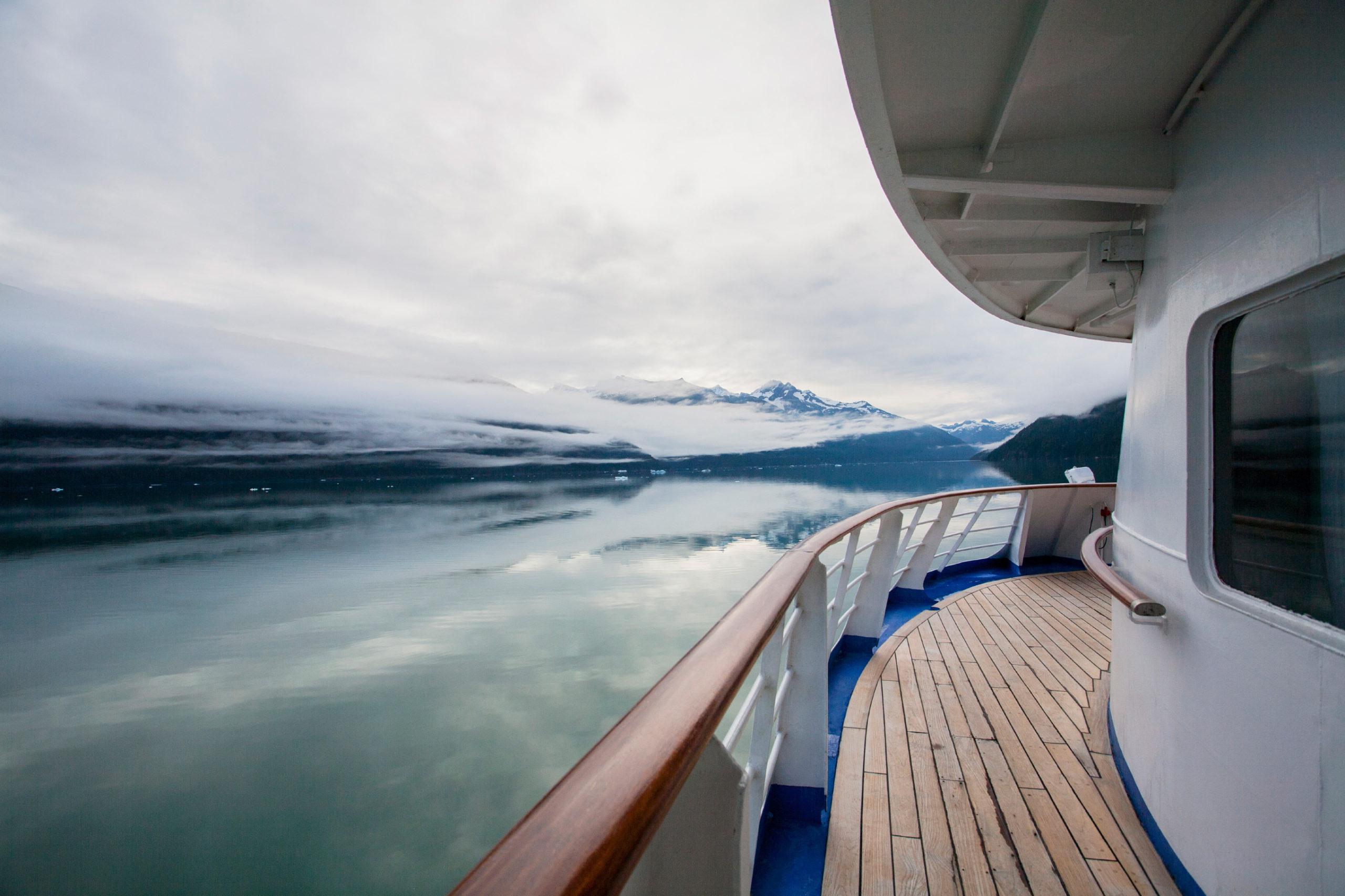 Alaska cruise boat